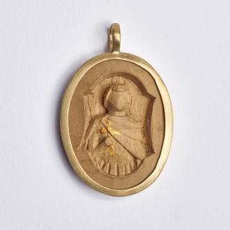 Pingente Santo Expedito Medalha M