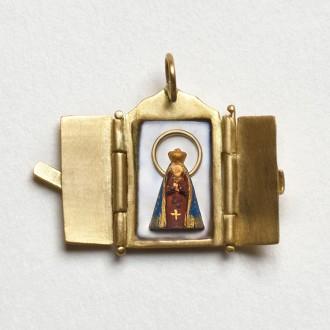 Pingente Oratório de Nossa Senhora Aparecida