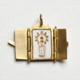 Pingente Oratório de Nossa Senhora de Fátima