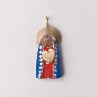 Pingente Sagrado Coração de Maria M
