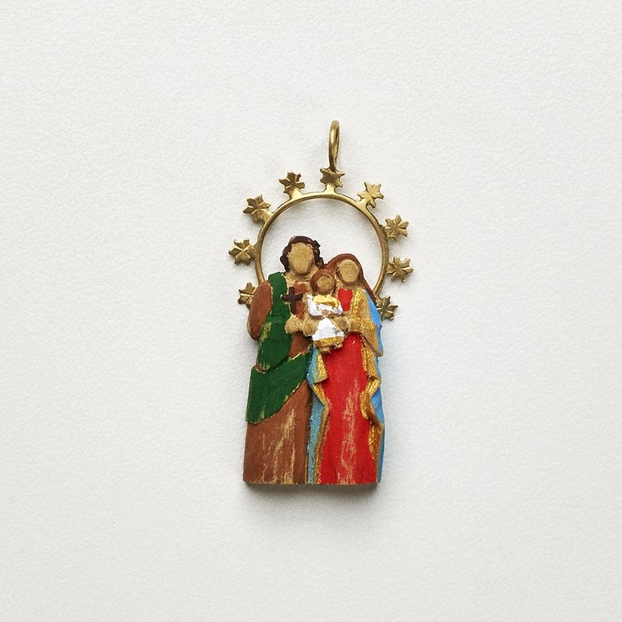Pingente Sagrada Família M